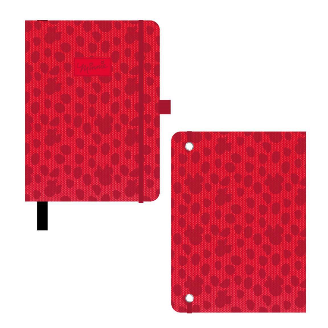 Disney Premium Notebook A5 Red Minnie