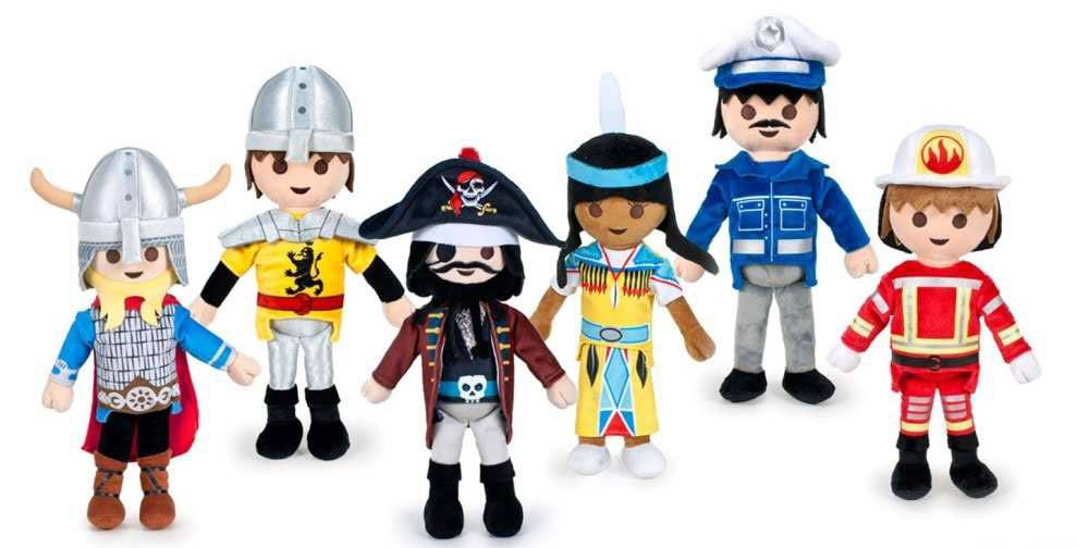 Playmobil Plush Figures 40 cm Display (12)