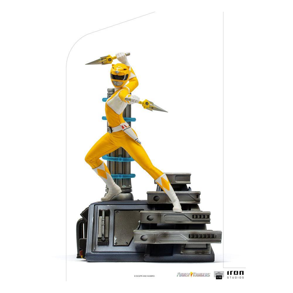 Power Rangers BDS Art Scale Statue 1/10 Yellow Ranger 19 cm