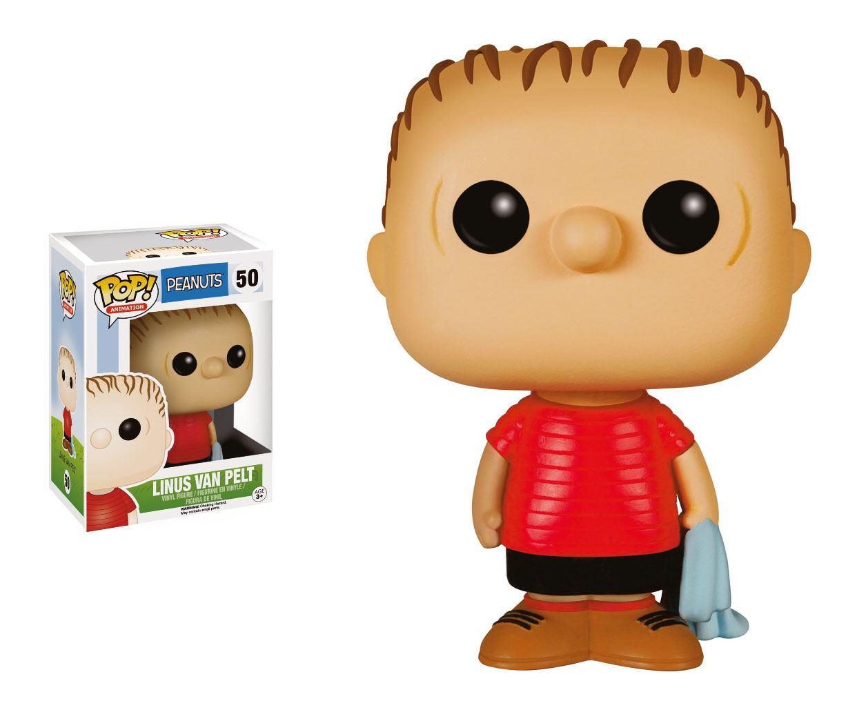 Peanuts POP! Animation Vinyl Figure Linus 9 cm