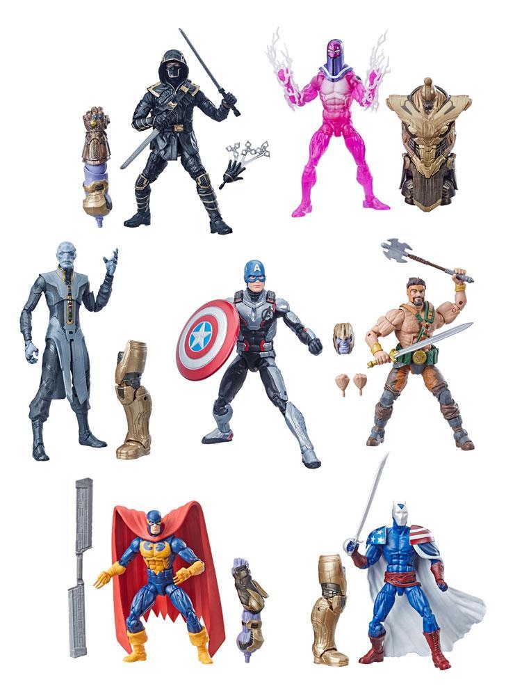 Marvel Legends Series Action Figures 15 cm Avengers 2019 Wave 1 Assortment (8)