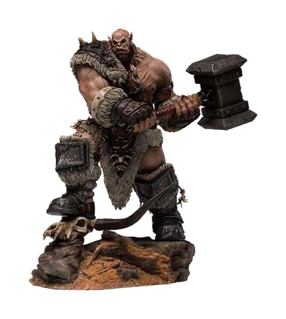 Warcraft: The Beginning Statue 1/9 Orgrim Standard Version 27 cm