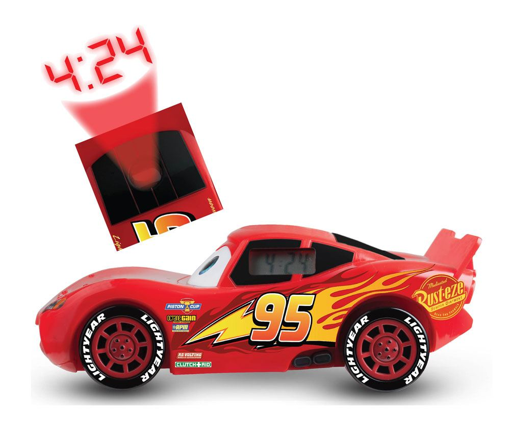 Cars 3 Alarm Clock With Projector Lightning Mcqueen Aanbiedingen