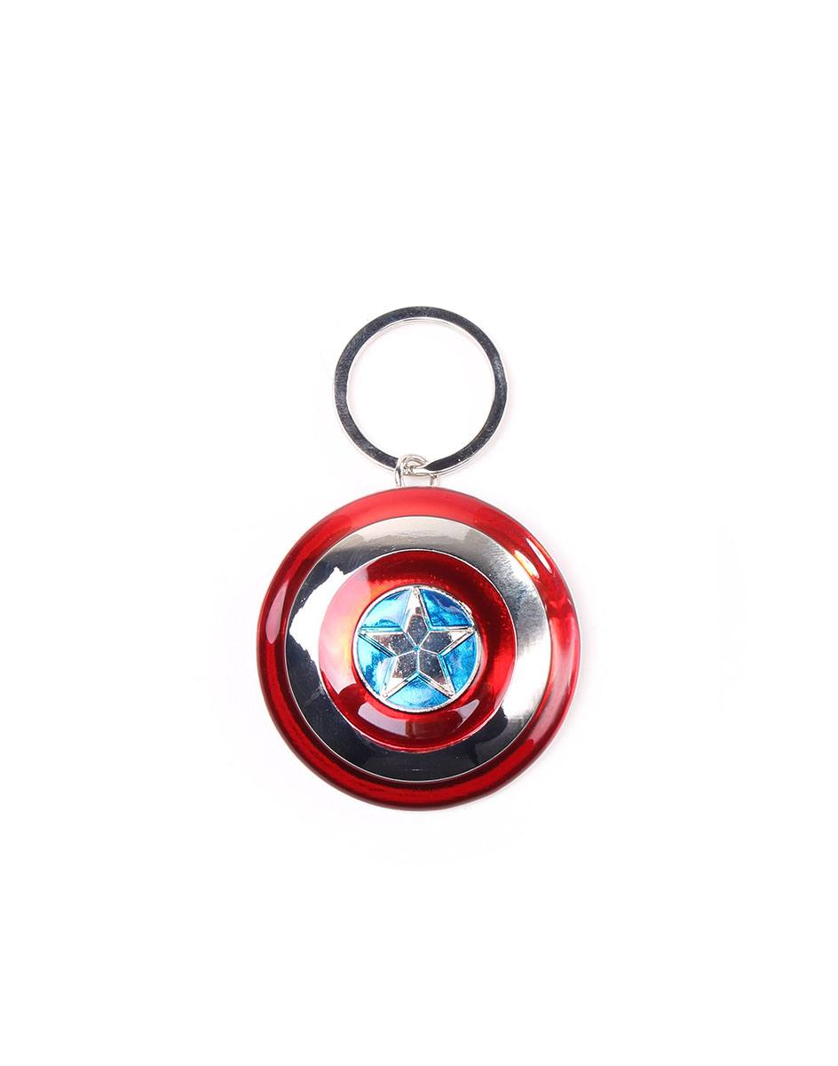 Marvel Metal Keychain Captain America Shield 7 cm