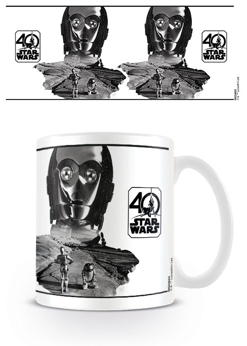 Star Wars Mug 40th Anniversary (C-3PO)
