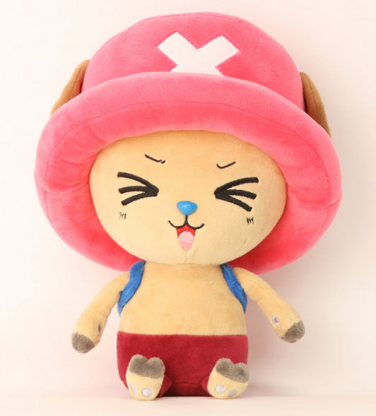 One Piece Plush Figure Chopper New Ver. 4 25 cm