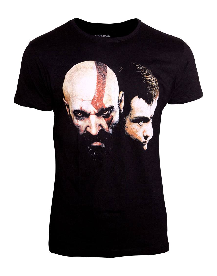God Of War T-Shirt Kratos Son Size L