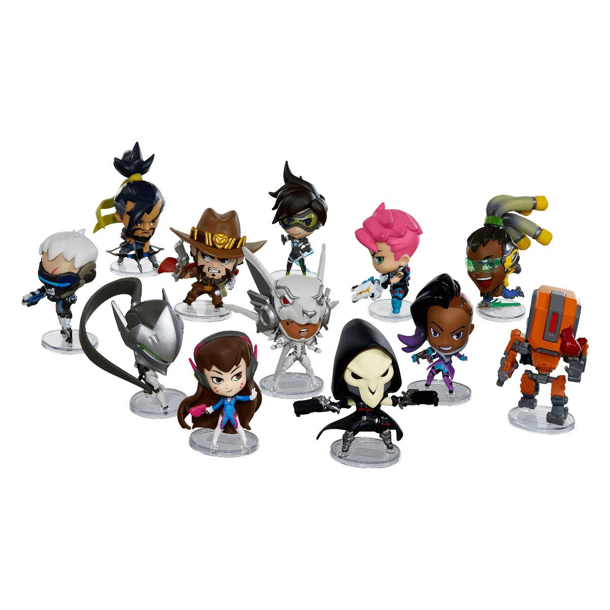 Overwatch Cute but Deadly Vinyl Mini Figures 7 cm Series 3 Display (12)