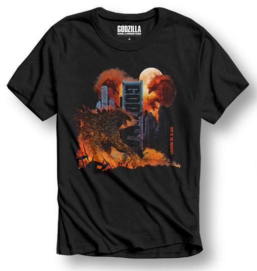 Godzilla T-Shirt City Size M
