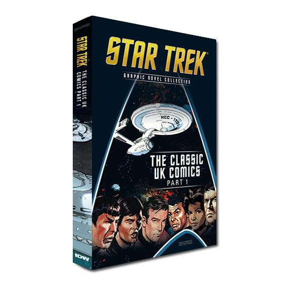 Star Trek Graphic Novel Collection Vol. 10: Classic UK Comics Part 1 Case (10) *English Version*