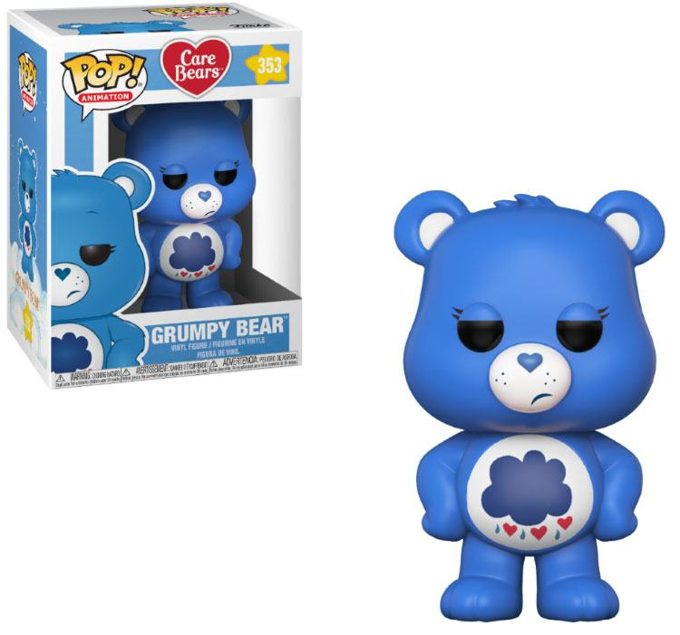 Care Bears POP! Animation Vinyl Figure Grumpy Bear 9 cm