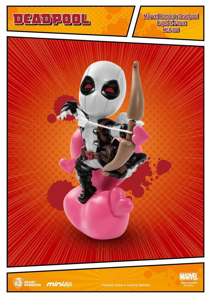 Marvel Comics Mini Egg Attack Figure Deadpool Cupid X-Force Version SDCC Exclusive 10 cm