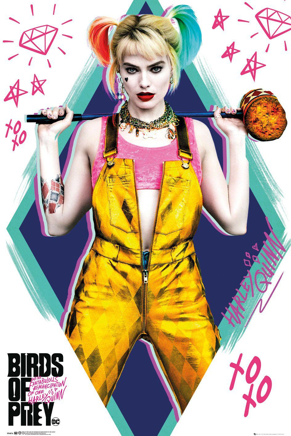Birds of Prey Poster Pack Harley Quinn 61 x 91 cm (5)