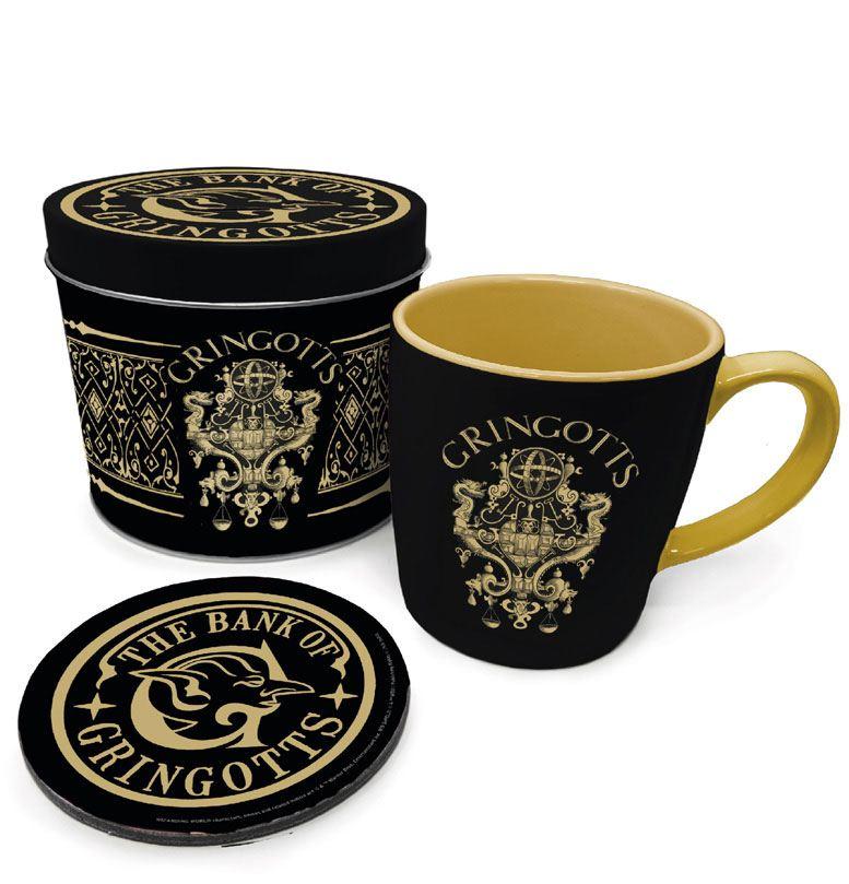 Harry Potter Mug with Coaster Gringotts