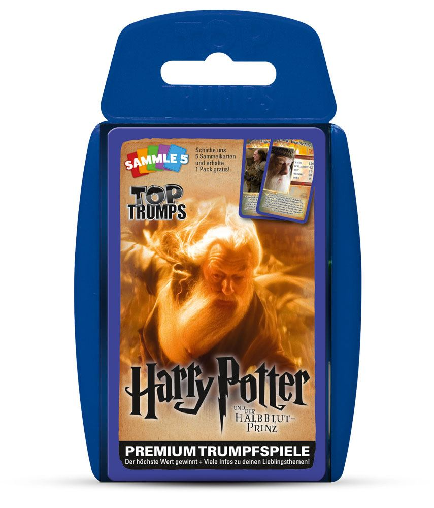 Harry Potter and the Half-Blood Prince Top Trumps *German Version*