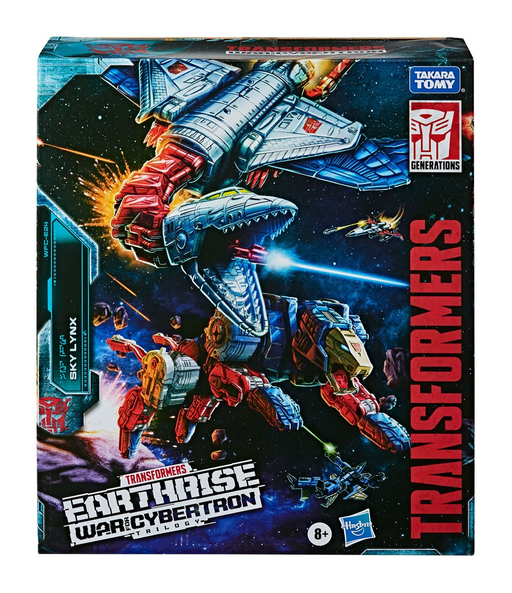 Transformers Generations War for Cybertron: Earthrise Commander Class Action Figure 2020 Sky Lynx