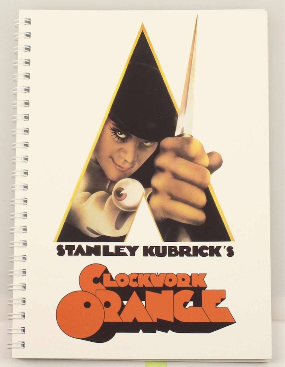 A Clockwork Orange Notebook Movie Poster