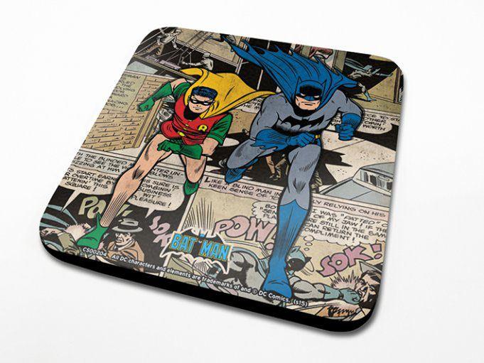 DC Comics Coaster Batman Montage Onderzetter per stuk
