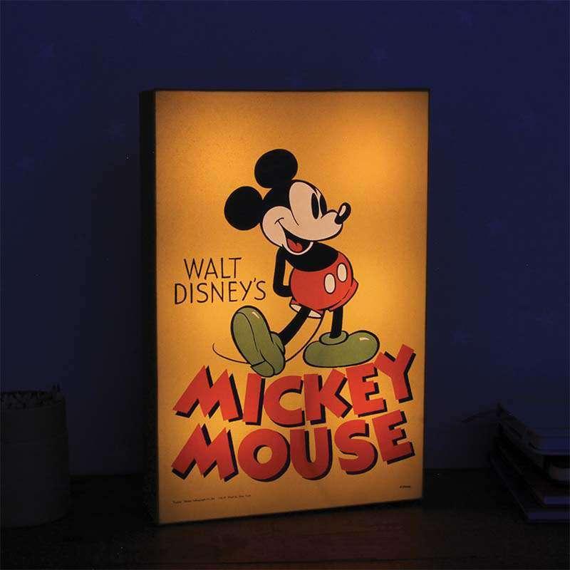 Mickey Mouse Toy Box Nightlight 30 cm