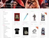 Captain Hook, Film en tv merchandise