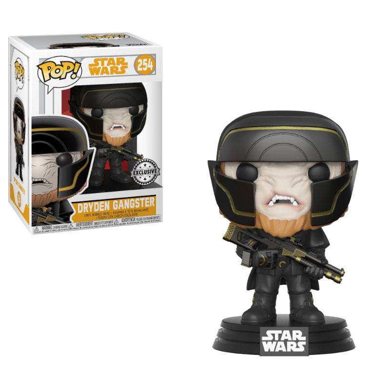 Star Wars Solo POP! Movies Vinyl Bobble-Head Dryden Henchman 9cm Exclusive