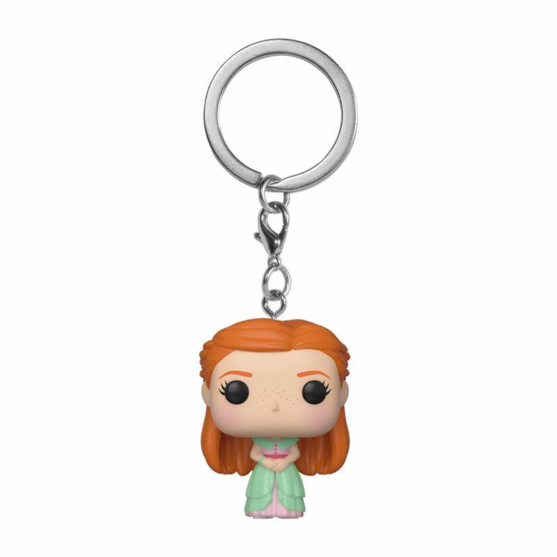 Harry Potter Pocket POP! Vinyl Keychain Ginny (Yule) 4cm