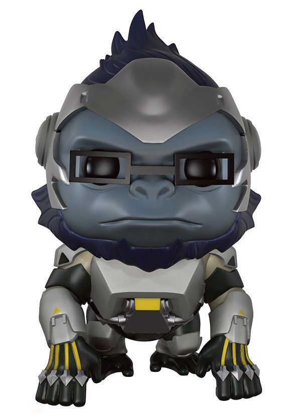 Overwatch Super Sized POP! Games Vinyl Figure Winston 14 cm
