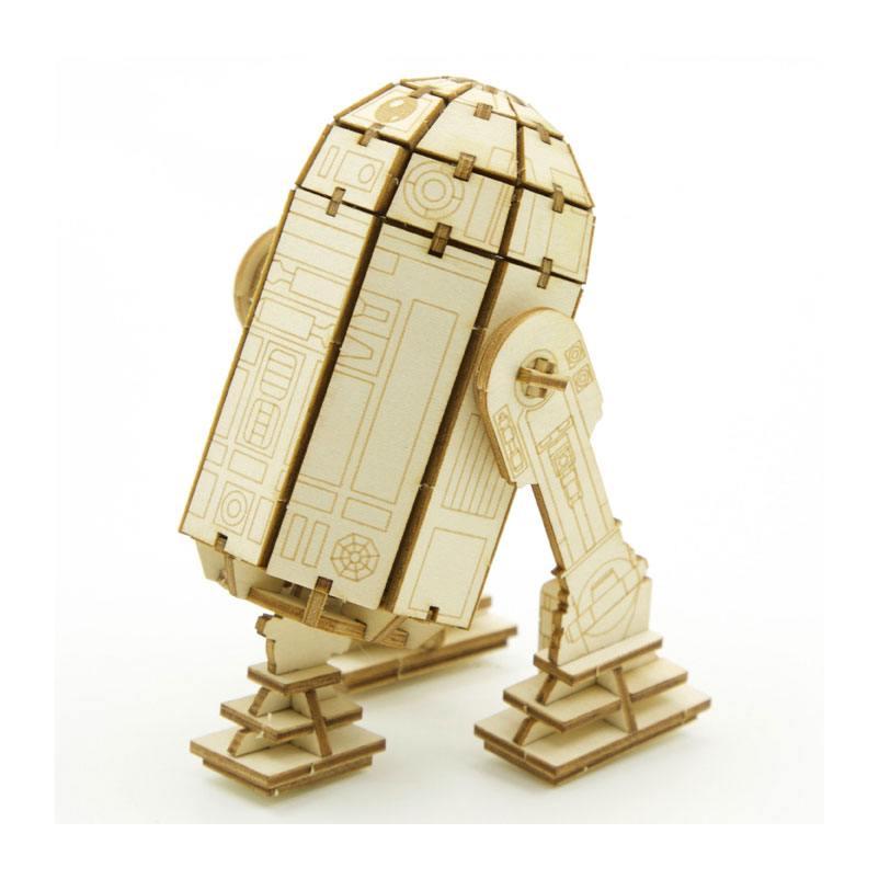 Star Wars IncrediBuilds 3D Wood Model Kit R2-D2