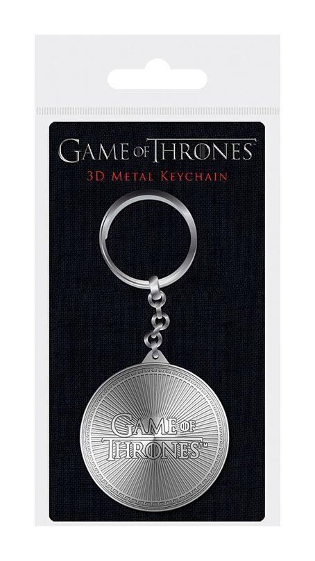 Game of Thrones 3D Metal Keychain Logo 6 cm
