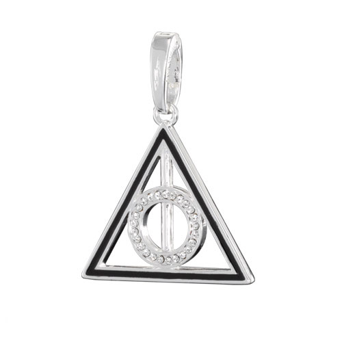 Harry Potter Bracelet Charm Lumos Deathly Hallows