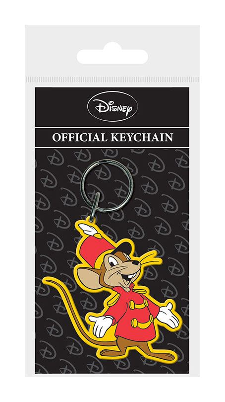 Dumbo Rubber Keychain Timothy Q Mouse 6 cm