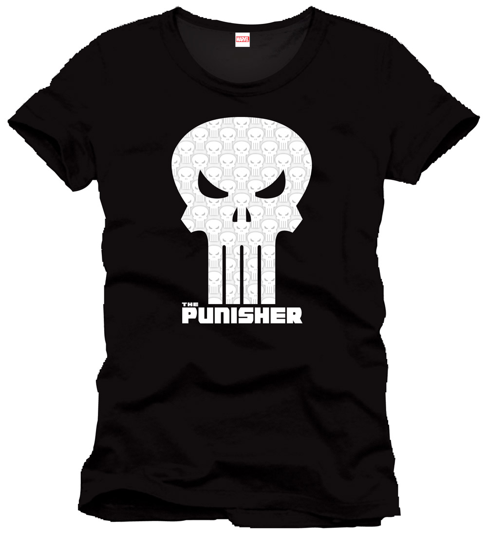 Punisher T-Shirt High Density Skull Maat M