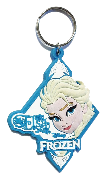 Frozen Rubber Keychain Elsa 6 cm