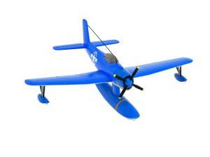 Kuifje vliegtuigen TinTin Planes: Blue seaplane