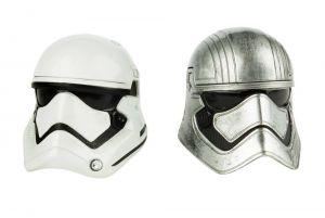 Star Wars Black Series Diecast Helmet 2-Packs Titanium Series 2016 Wave 1 Captain Phasma First Order Stormtrooper